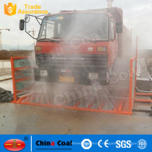 Vehicle tyre flushing machine tyre washer